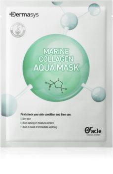 Dr. Oracle Dermasys Marine Collagen plátenná maska s vysoko hydratačným a vyživujúcim účinkom