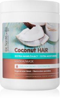 Dr. Santé Coconut Hydratisierende Maske für Glanz auf trockenem und brüchigem Haar