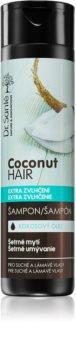 Dr. Santé Coconut kókuszolajat tartalmazó sampon száraz és törékeny hajra