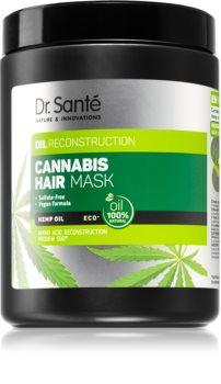 Dr. Santé Cannabis regenererende sheet mask voor Beschadigd Haar