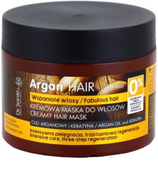 Dr. Santé Argan masque crème pour cheveux abîmés