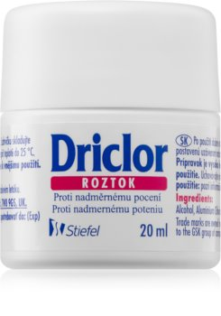 Driclor Solution antiperspirant roll-on proti prekomernemu potenju
