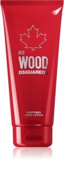 Dsquared2 Red Wood parfümös testápoló tej hölgyeknek