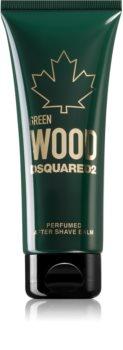 Dsquared2 Green Wood balzam po holení pre mužov