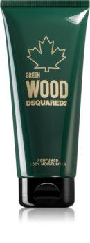Dsquared2 Green Wood хидратиращо мляко за тяло за мъже