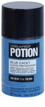 Dsquared2 Potion Blue Cadet desodorizante em stick para homens 75 ml (sem álcool)