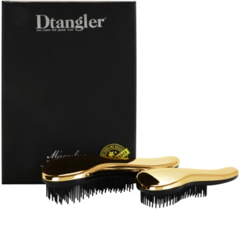 Dtangler Miraculous Set Gold (For Easy Combing)