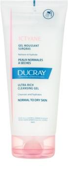 Ducray Ictyane gel de curatare spumant pentru piele normala si uscata