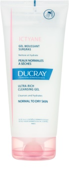 Ducray Ictyane gel detergente in schiuma per pelli normali e secche