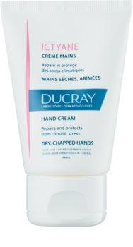 Ducray Ictyane creme hidratante para pele seca e gretada das mãos