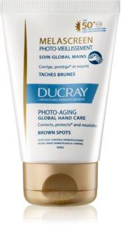 Ducray Melascreen komplex ápolás kézre SPF 50+  a pigment foltok ellen