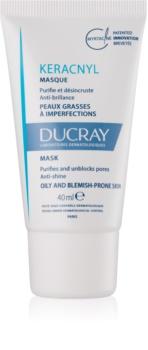 Ducray Keracnyl čisticí maska pro pleť s nedokonalostmi