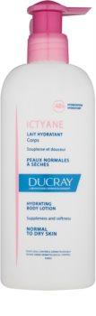 Ducray Ictyane leite corporal hidratante para pele normal e seca