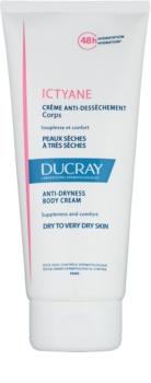 Ducray Ictyane crème hydratante corps pour peaux sèches à très sèches