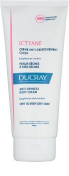 Ducray Ictyane Fugtgivende kropscreme til tør og meget tør hud