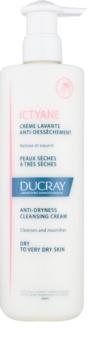 Ducray Ictyane creme de limpeza para pele seca a muito seca