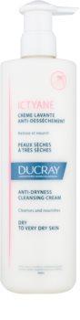 Ducray Ictyane почистващ крем  за суха или много суха кожа