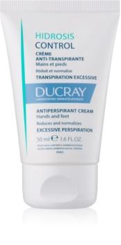 Ducray Hidrosis Control creme antitranspirante para pés e mãos