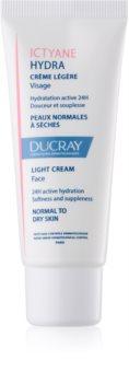 Ducray Ictyane könnyű hidratáló krém normál és száraz bőrre