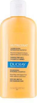 Ducray Nutricerat shampoing nourrissant pour renouveler et renforcer les cheveux