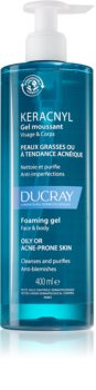 Ducray Keracnyl pjenasti gel za čišćenje za masno lice sklono aknama