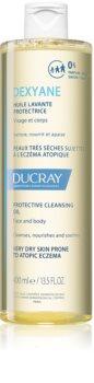 Ducray Dexyane óleo de limpeza  para pele muito seca