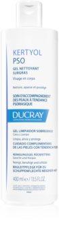 Ducray Kertyol P.S.O. измиващ гел за тялото и кожата на главата при появата на пърхут