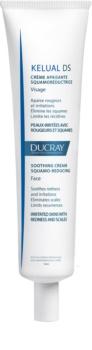 Ducray Kelual DS заспокоюючий крем для подразненої та жирної шкіри з надмірним лущенням