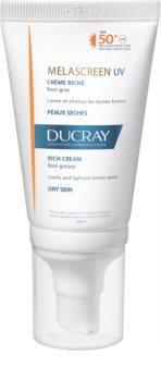 Ducray Melascreen napozó krém pigmentfoltok ellen SPF 50+