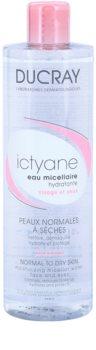 Ducray Ictyane água micelar hidratante para pele normal a seca