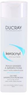 Ducray Keracnyl čistilna voda za mastno in mešano kožo