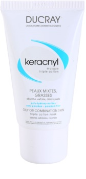 Ducray Keracnyl mascarilla limpiadora para pieles grasas y mixtas