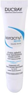 Ducray Keracnyl регенериращ балсам за устни при лечение на акне