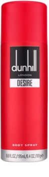 Dunhill Desire Desire Red spray corporal para hombre