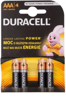 Duracell 1,5 V Alkaline AAA batteries, 4pcs