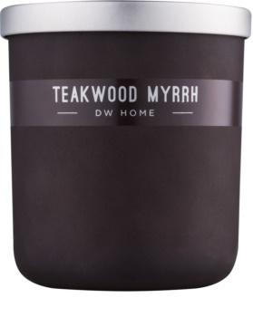 DW Home Teakwood Myrrh αρωματικό κερί