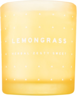 DW Home Lemongrass scented candle