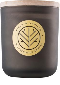 DW Home Smoked Birch & Vanilla duftkerze  mit Holzdocht