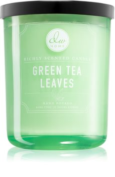 DW Home Green Tea Leaves scented candle