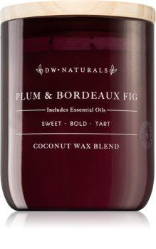 DW Home Plum & Bordeaux Fig lumânare parfumată