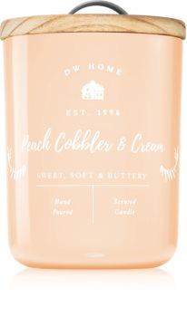 DW Home Farmhouse Peach Cobbler & Cream lumânare parfumată