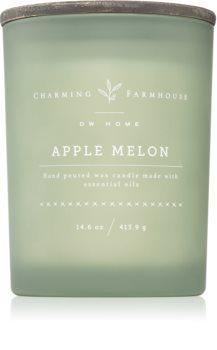 DW Home Charming Farmhouse Apple Melon Tuoksukynttilä Puinen Sydän