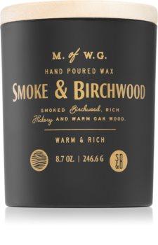 Makers of Wax Goods Smoke & Birchwood lumânare parfumată