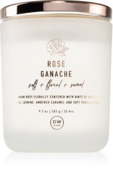 DW Home Rose Ganache bougie parfumée