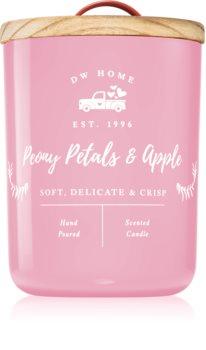 DW Home Farmhouse Peony Petals & Apple mirisna svijeća