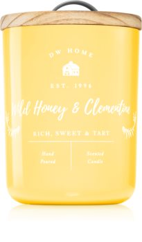 DW Home Farmhouse Wild Honey & Clementine scented candle