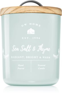 DW Home Farmhouse Sea Salt & Thyme lumânare parfumată