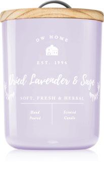 DW Home Farmhouse Dried Lavender & Sage lumânare parfumată