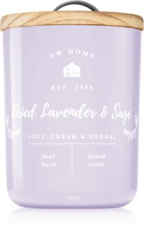 DW Home Farmhouse Dried Lavender & Sage ароматна свещ