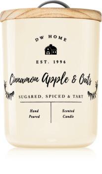 DW Home Farmhouse Cinnamon Apple & Oats vonná sviečka